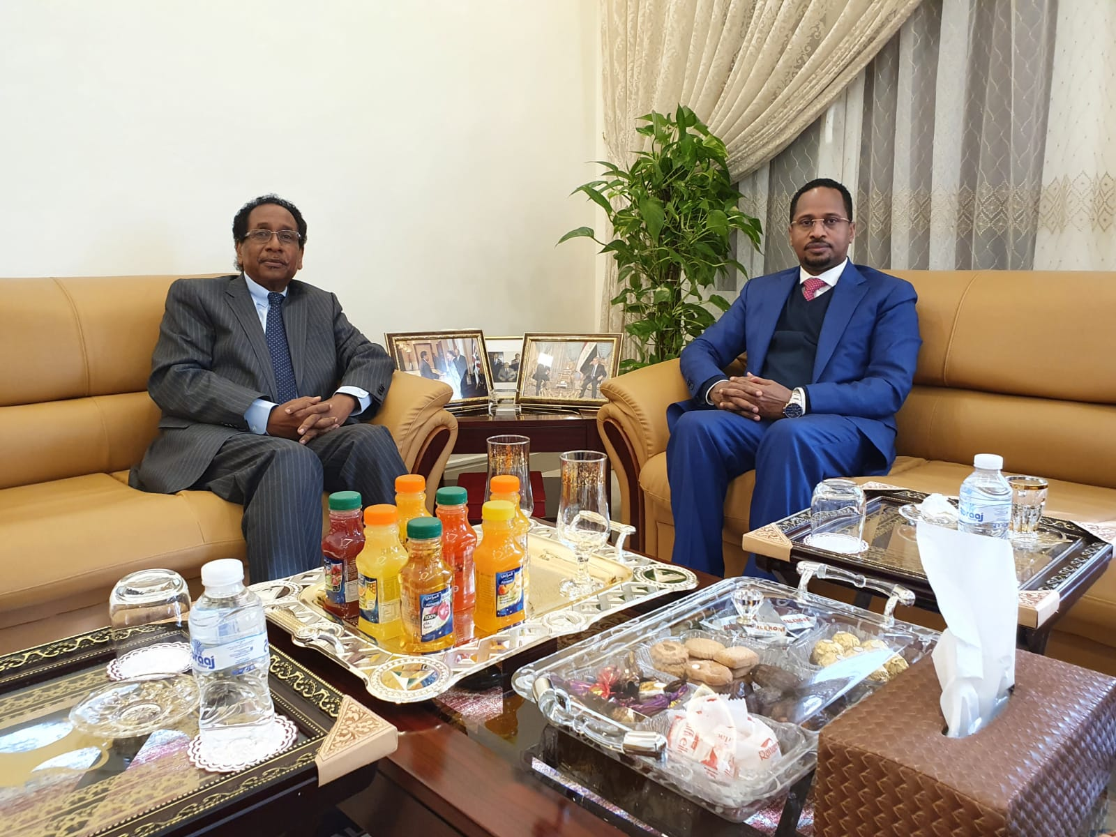 Visit of the Ambassador of the Fedral Democratic Republic of Ethiopia to the Embassy