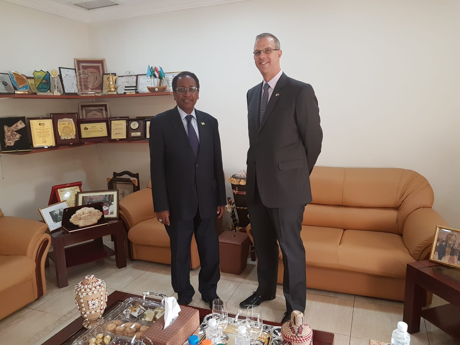 Visit of the Ambassador of Canada
