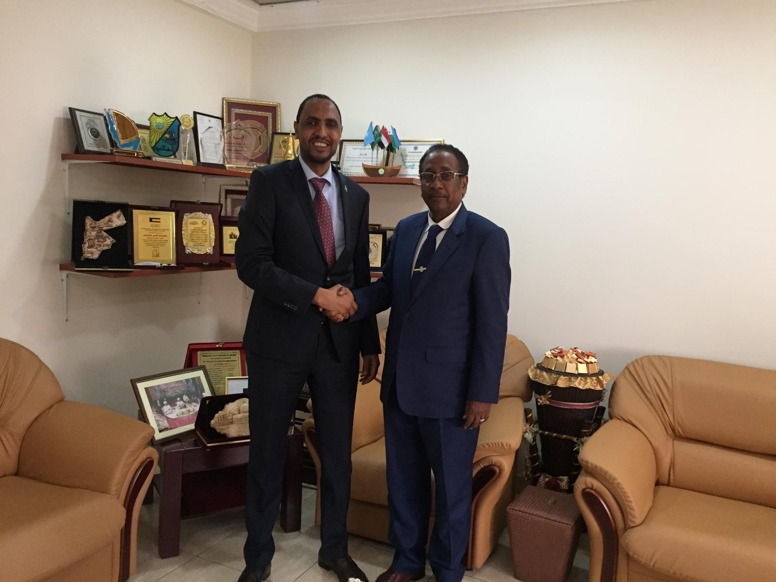Visit of the Ambassador of the Federal Republic of Somalia