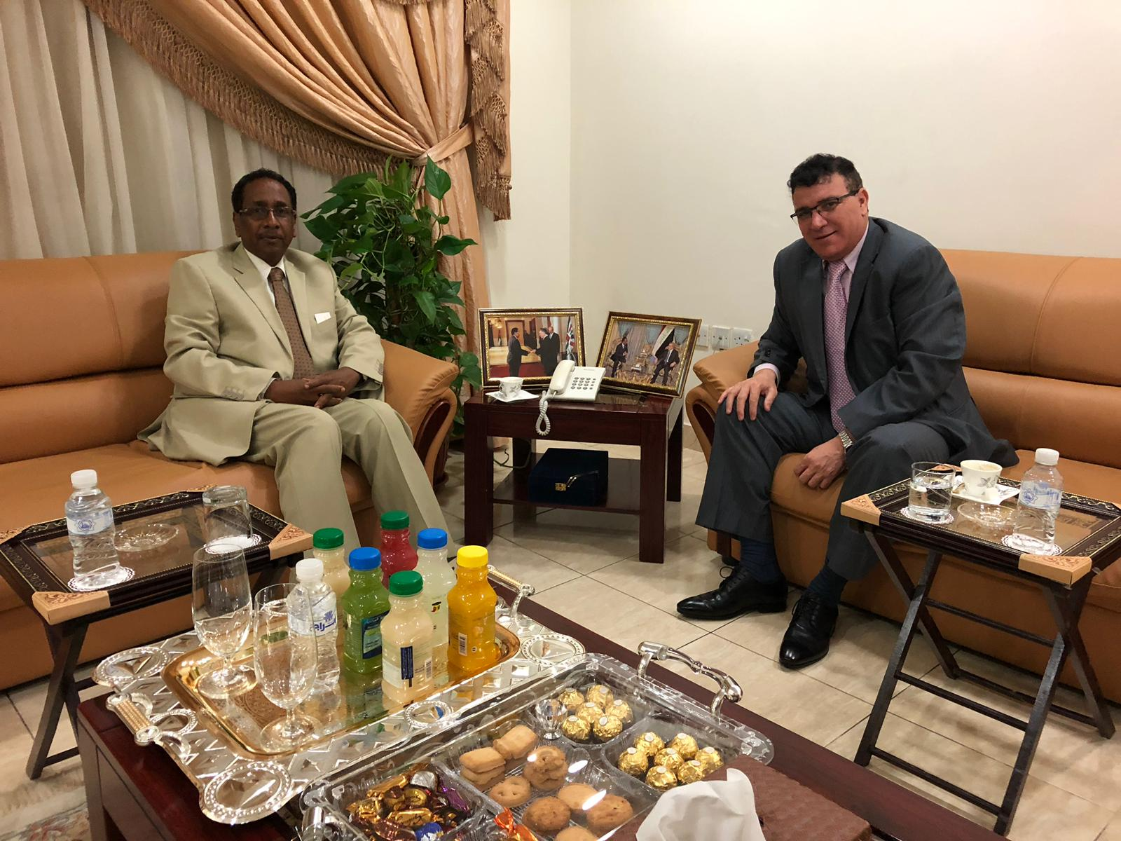 Visit of the Ambassador of the People's Democratic Republic of Algeria