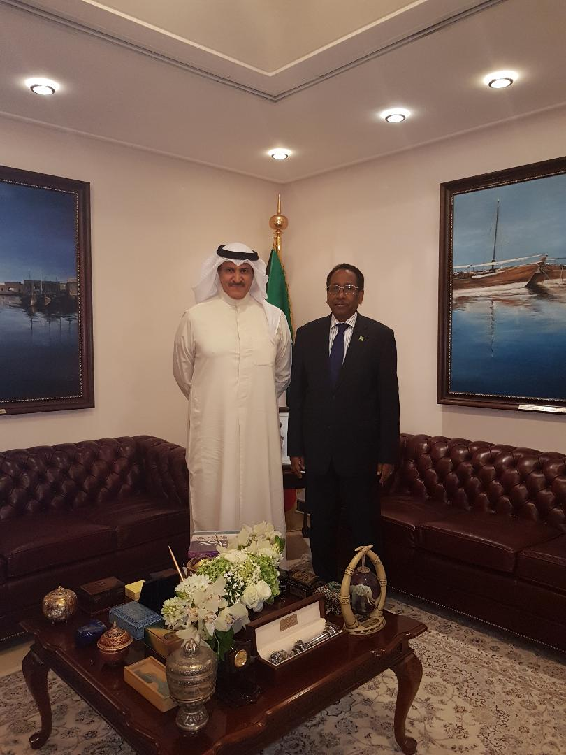 Courtesy Visit to Assistant of the minister for Protocol Affairs